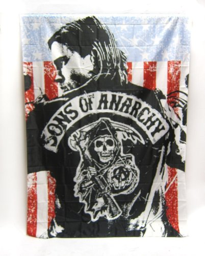 sons of anarchy 84 x 60 jax banner sons of anarchy shop. Black Bedroom Furniture Sets. Home Design Ideas