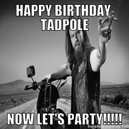 Happy Birthday from Opie