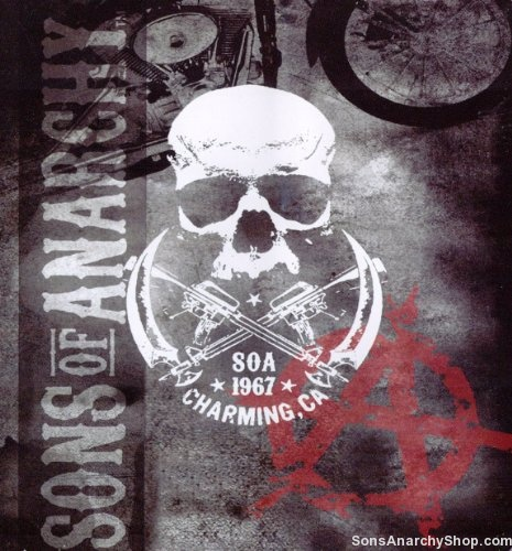 Sons Of Anarchy Charming Ca 1967 Blanket Soa Merchandise