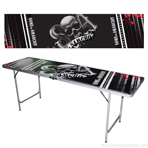 Sons Of Anarchy Light Up Beer Pong Table Sons Of Anarchy Shop